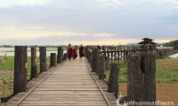 Appreciate the beauty of the longest teak-wood bridge in the world