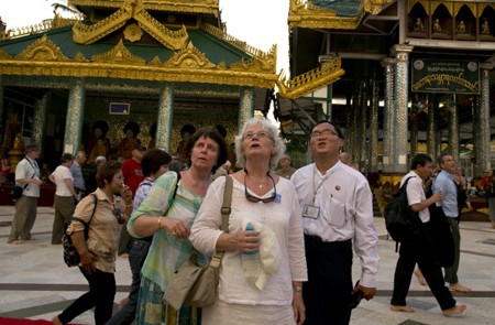 Dress and act decent when visiting Myanmar