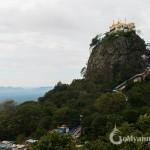 Kalat Monastery on Mt. Popa