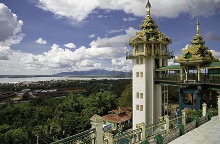 Kyaikthanlan Paya Pagoda in Myanmar.