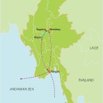 Myanmar Classic Tour – 8 Days map