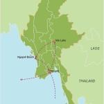 Myanmar in Style – 9 Days map