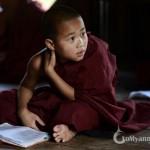 Little Monks in Myanmar