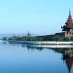 Mandalay historical site of Myanmar