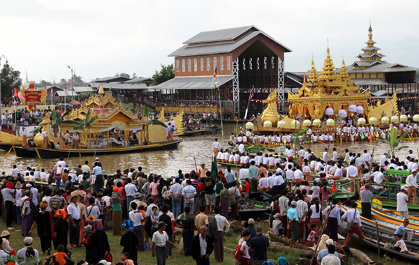 the visit to a pagoda festival Temple fairs or pagoda festivals, lasting a week or longer, are the equivalent of   lord buddha was said to have visited and made preordination of events.