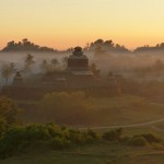 Mrauk U in the mysterious fog