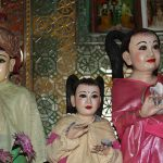 Burmese nats (spirits) in Mount Popa