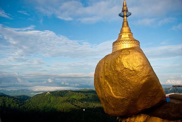 Golden Rock, Kyaiktiyo Pagoda, Myanmar