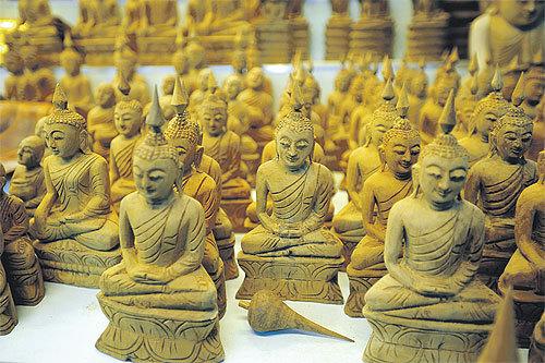 The Buddha Statues
