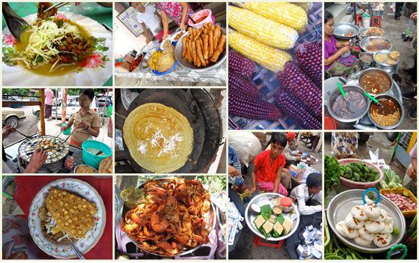 Myanmar snack