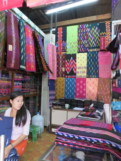 The traditional textile products