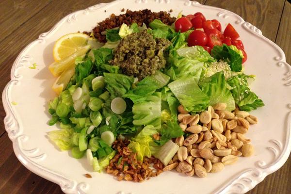Myanmar Tea Leaf Salad