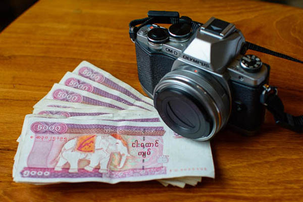 Always carry cash Tip Travel Myanmar
