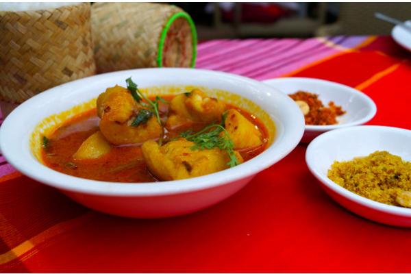 Dishes in Padonmar Restaurant