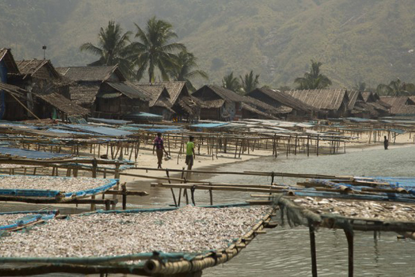 Fishing village in Dawei, Tanintharyi Region, Myammar
