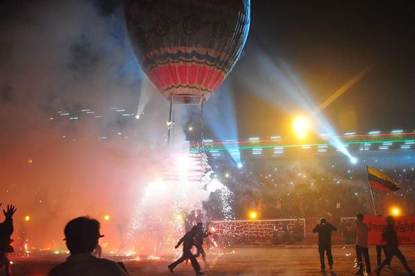 Pyin Balloon Festival, Mandalay