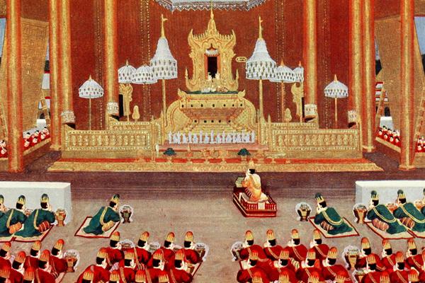 Royal court of Konbaung Dynasty