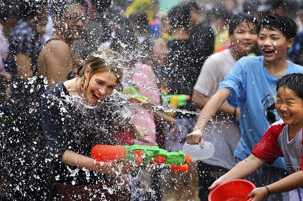 Water Festival, Myanmar