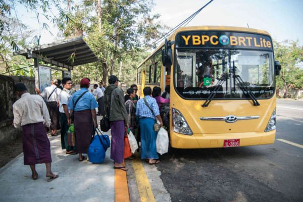 Travel Myanmar by bus