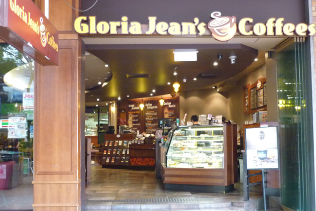 Gloria Jeans Coffees in Yangon