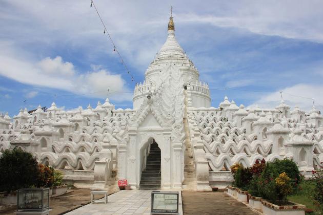 Hsinbyume (Myatheindan) Pagoda, Migun, Myanmar