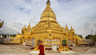 Golden Sandamuni pagoda