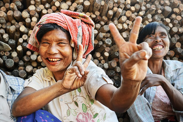 Myanmar - The friendliest people on earth