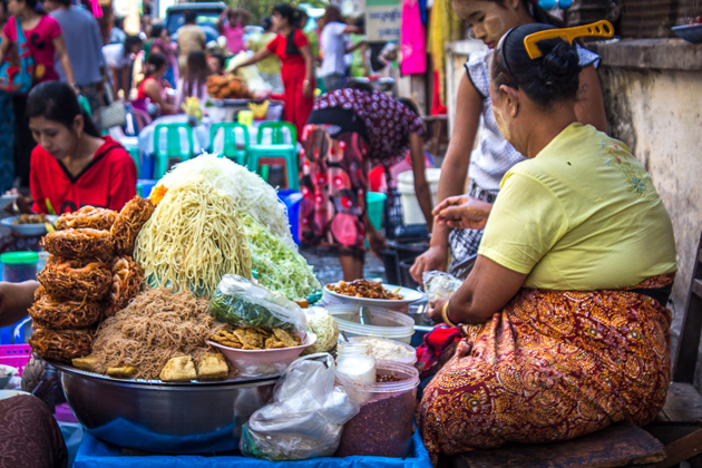 Myanmar - The most scrumptious and diverse cuisine of the Southeast Asia