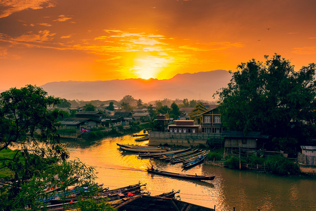 Myanmar - The stunning and picturesque nature