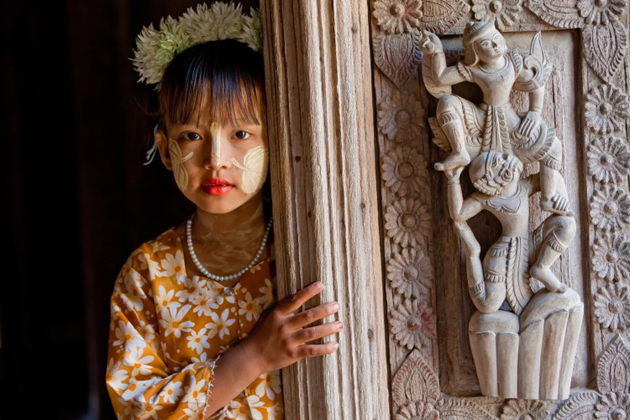 Thanaka plays an important role in daily life and religious ceremonies of Burmese people