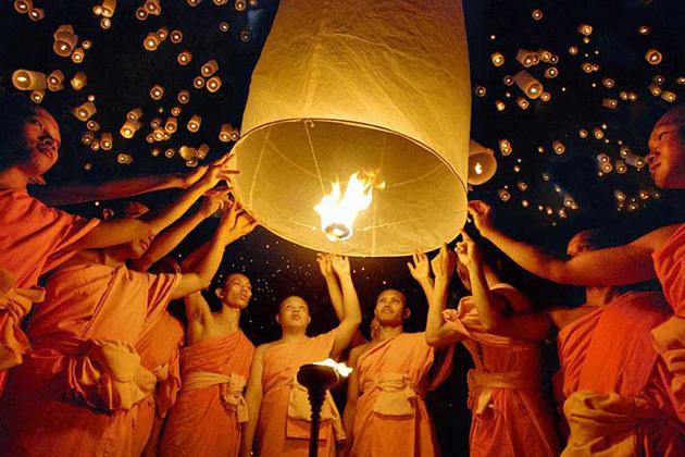 The Full-moon Tazaungmone festival