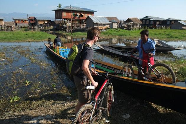 Biking trip around Inle Lake