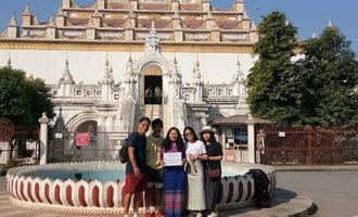 Adventure Myanmar family tour