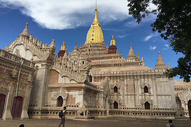 Ananda Pagoda is one of the most beautiful temples in Bagan