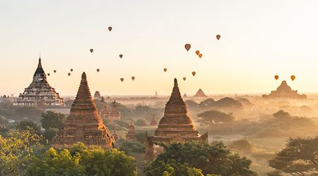 Bagan - Myanmar adventure travel package
