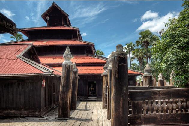 Bagaya Monastery-Mandalay tour
