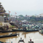 Boat Harbor near Phaungdaw Oo Pagoda