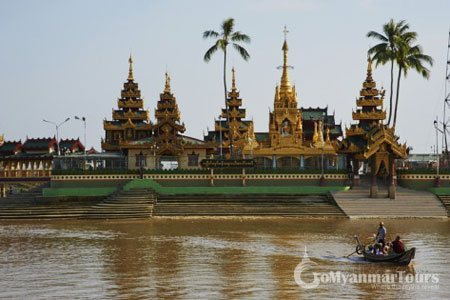 Boat trip to Ye Le Paya Temple