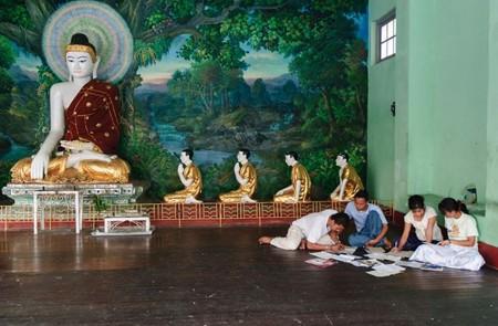 The Buddhism of Myanmar is Theravada Buddhism.
