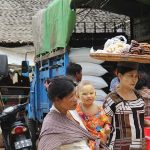 Burmese people in the local Nyaung U Market-Bagan temple tour
