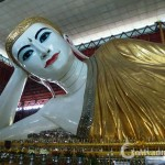 Reclining Buddha in Chauk-Htat-Gyi Pagoda