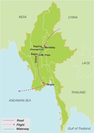 Mouths of the irrawaddy