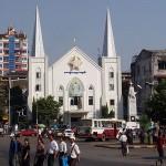 Emmanuel Church - A British colonial building in Myanmar.