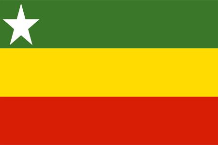 Flag of Myanmar (proposal 2010).