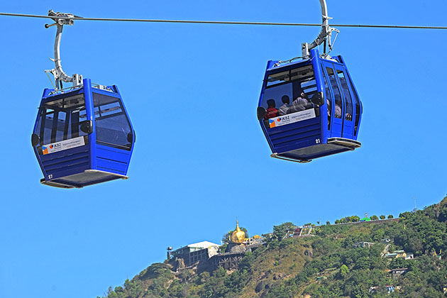 Golden Rock cable car