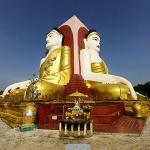 Kyaik Pun Pagoda in Bago