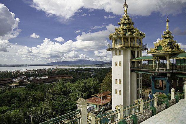 Kyaikthanlan Paya Pagoda is one of the famous destinations to visit in Mawlamyine tour