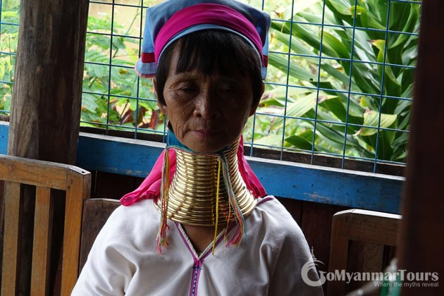 Long Neck Woman Inle