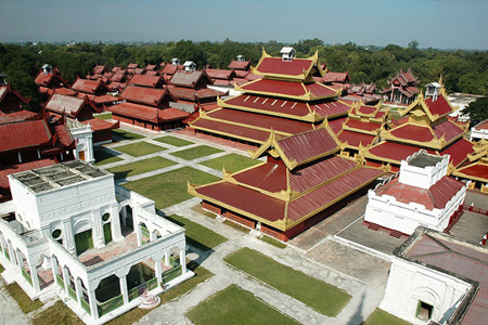 Mandalay and Sagaing town become the center of Budhism in Myanmar.