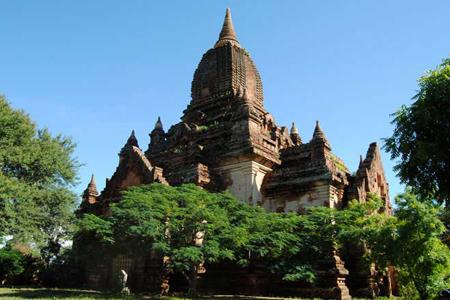 Minkaba Gubyaukyi Temple.